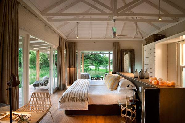 Luxury accommodation at Morukuru Farmhouse, Madikwe Game Reserve, South Africa