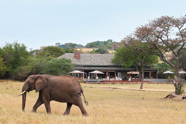 Stunning views at Singita Serengeti House, Grumeti, Tanzania