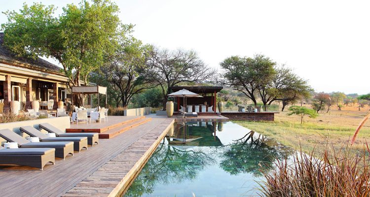 Exclusive safari houses