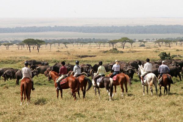 Riding in the Masai Mara, Offbeat Safaris