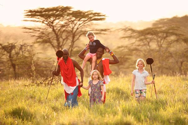 Family fun at Sirikoi House, Lewa, Kenya