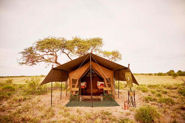 Luxurious accommodation, Uncharted Safaris, Okavango Delta, Botswana