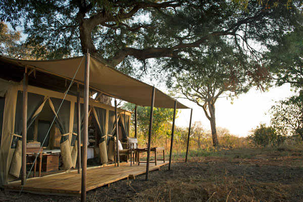 Safari tent, Chada Katavi Lodge