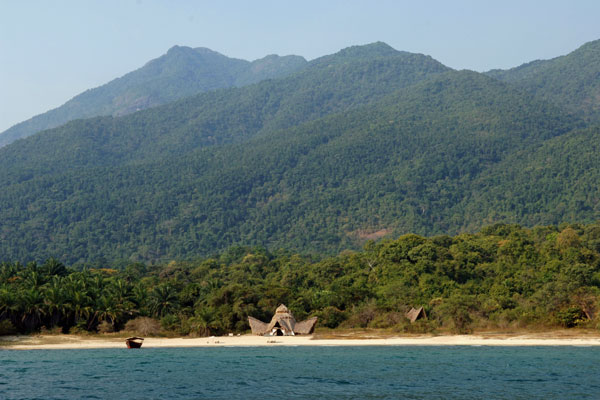 Greystoke Mahale, nestled against the Mahale mountains