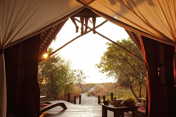 Remote Greystoke Mahale Lodge on the shores of Lake Tanganyika