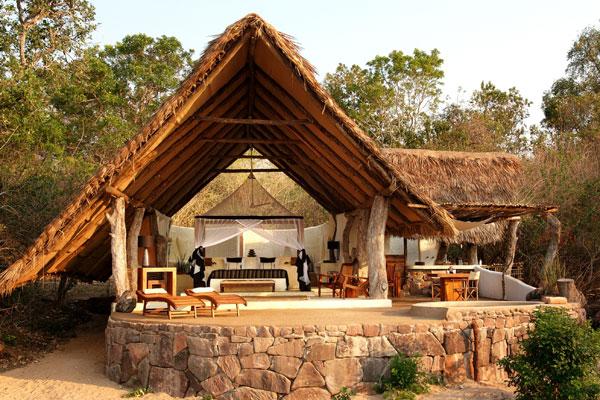 Tanzania family safari tent at Kiba Point