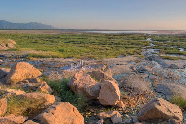 Lake Manyara scenery
