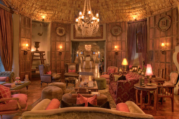 Opulent luxury at Ngorongoro Crater Lodge