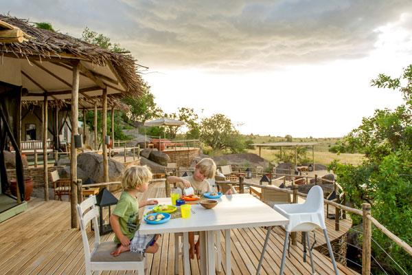 Tanzania family safari meals at Mkombe's House