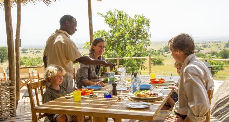 Mkombes House family Nomad Tanzania