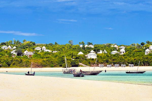 Beach at Kilindi, Zanzibar