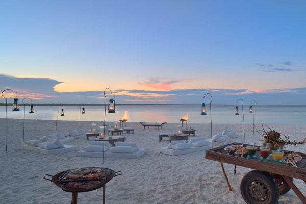 Sundowners, Mnemba Island