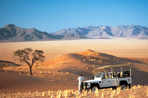 Wolwedans Dune Camp game drive, NamibRand, Namibia