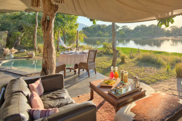 Chongwe Safari Camp, Lower Zambezi River