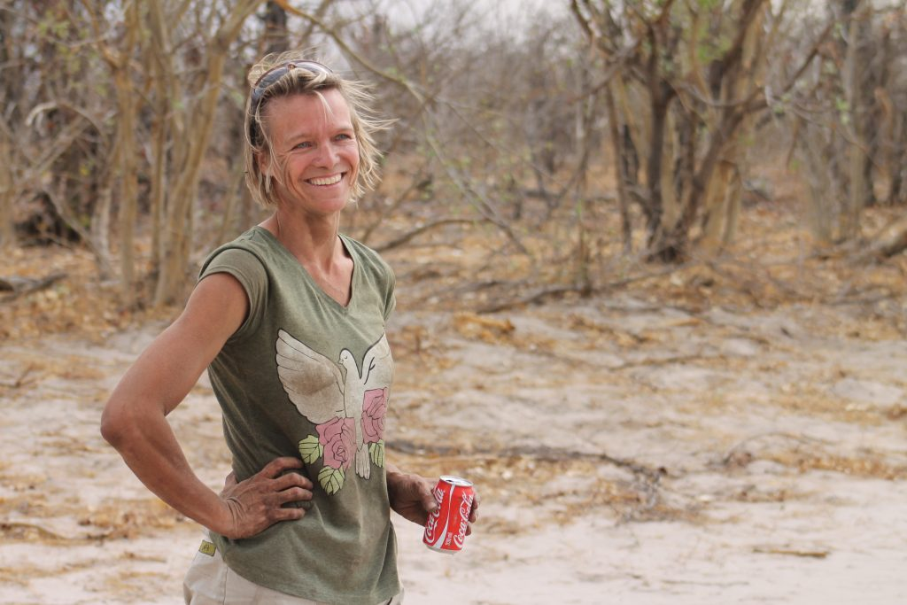 Drumbeat Safaris - Annelies Zonjee-James