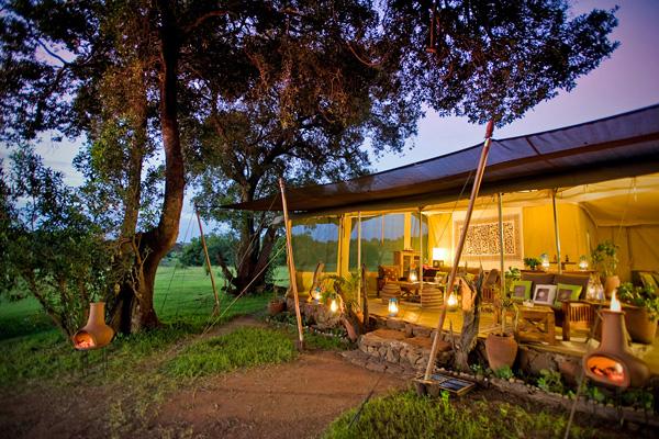 Lounge at Kicheche Mara Camp, Mara Conservancies