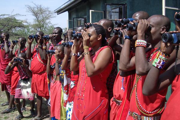 Koiyaki Guide School students Mara Conservancies