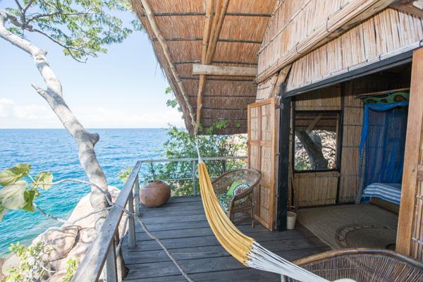 Rustic charm at Mumbo Island, Lake Malawi