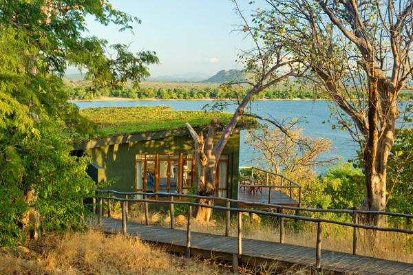 Beautiful lakeside views from every room, Pumalani Lake Malawi