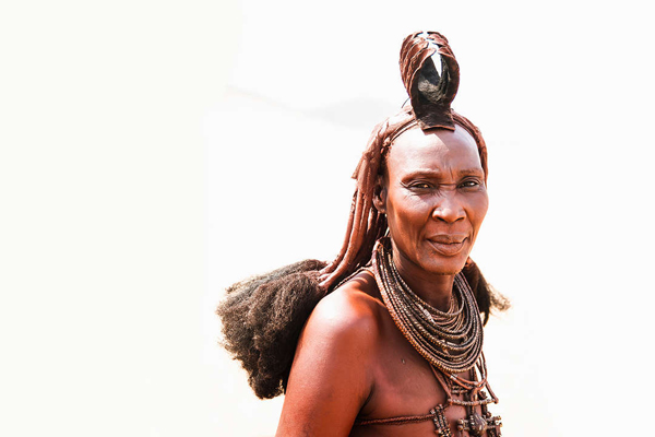 Guests have an opportunity to meet the Himba community at Serra Cafema.