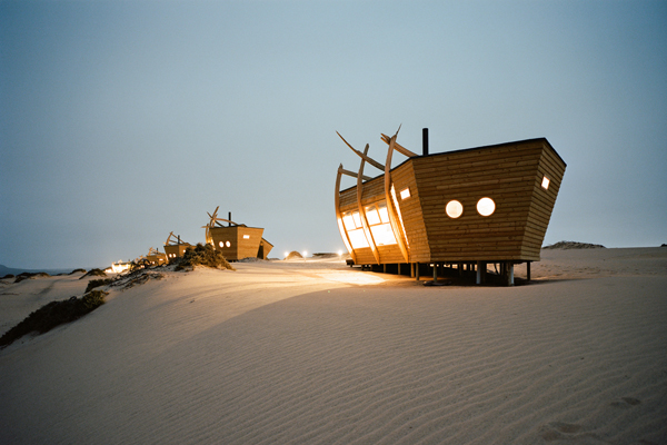Ships in the desert - Shipwreck Lodge, Skeleton Coast, Natural Selection