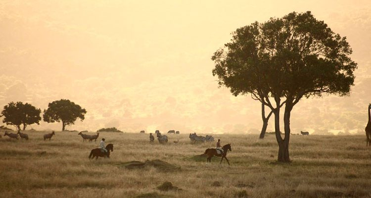 Hosted riding safari in Kenya with Safaris Unlimited
