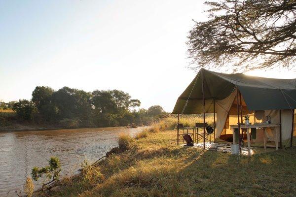 Wonderful setting on the Mara River