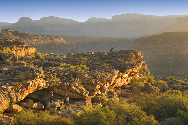 Exploring the Cederberg Mountains from Bushamans Kloof