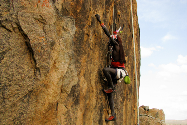 Rock climbing with Karisia Safaris, Laikipia, Kenya