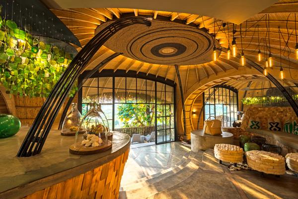 Stunning accommodation at Bisate Lodge, Volcanoes National Park, Rwanda