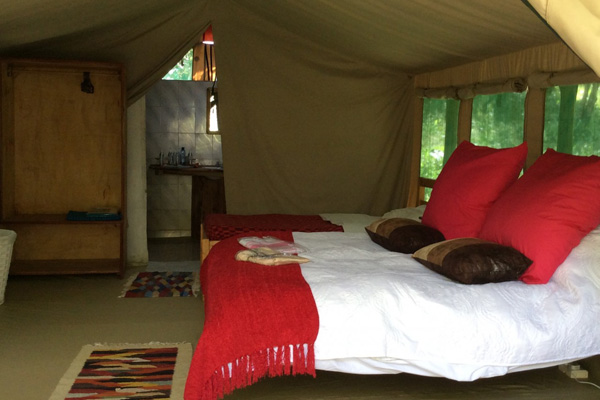 Tangulia Mara Camp tent bedroom