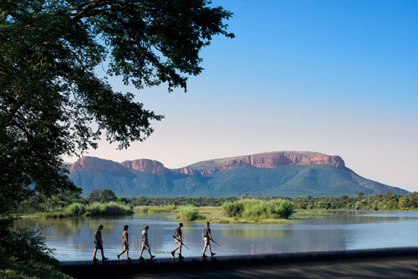 Wonderful scenery, camps and safari activities at Marataba