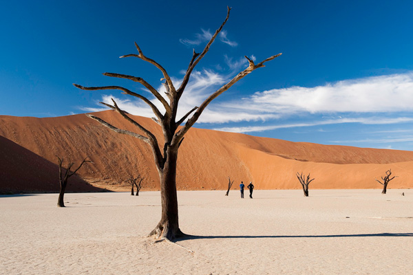 Natural auditorium at Dead Vlei, Little Kulala