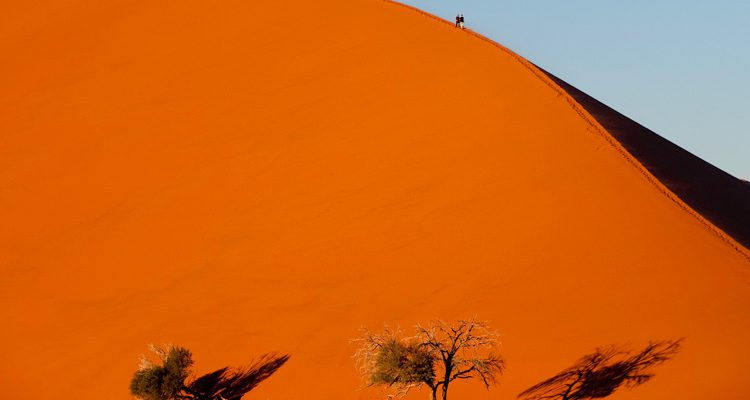Top Experiences Namibia walking-up-big-daddy,-Kulala-Camp