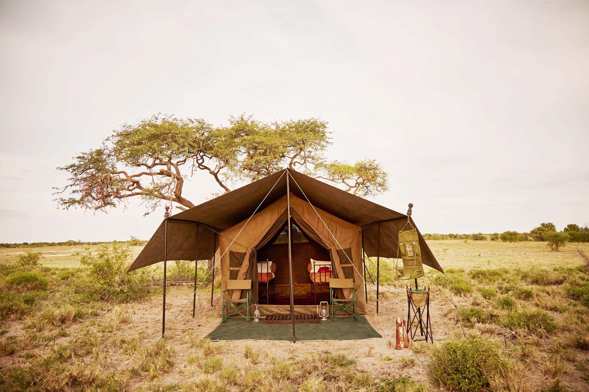 Mobile tented safari with Uncharted Africa