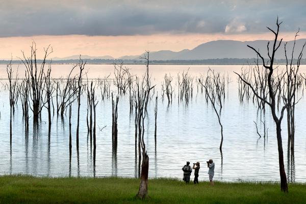 Extraordinary scenery around Lake Kariba, Bumi Hills Safari Lodge