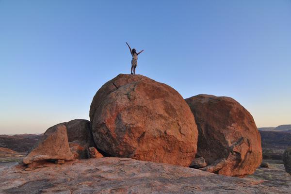 Sunset in Matopas National Park