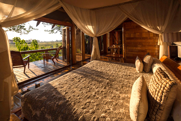 Jao Camp, Okavango Delta, accommodation