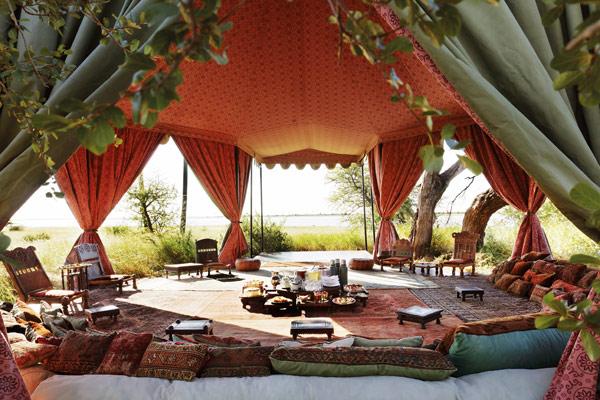 Tea tent, Jack's Camp