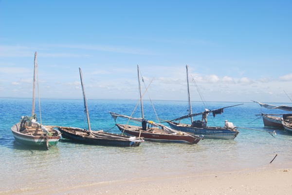 Dhow boats at Azure Retreats Quilalea