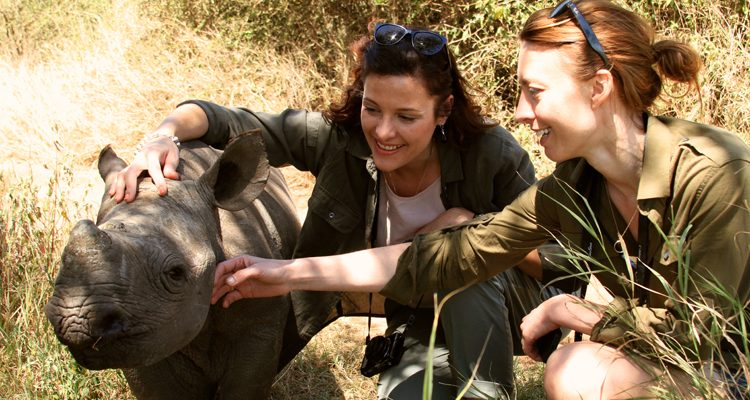 Top experiences Kenya - Visiting the baby rhino © Lewa Wilderness