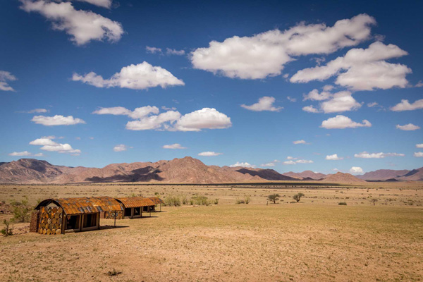 Sossusvlei and Namib Rand views at Sossusvlei Under Canvas