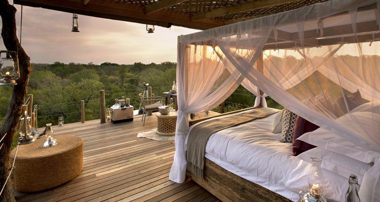 Kingston treehouse bedroom, Sabi Sands, South Africa