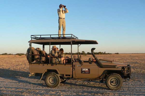 Mobile safaris with Drumbeat Safaris