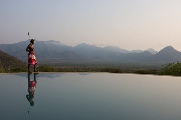 Extraordinary views at Sarara Camp - Samburu by pool