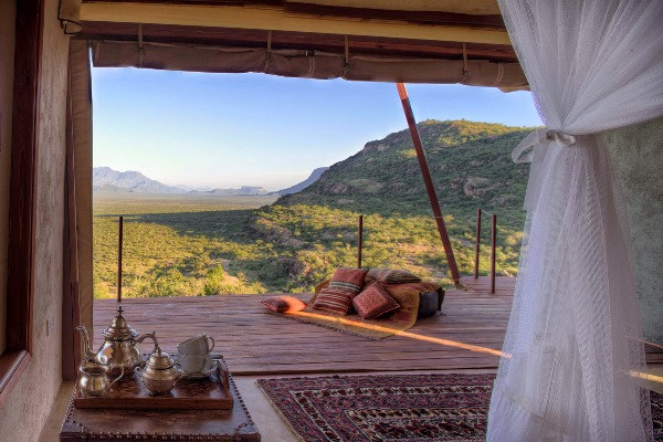 Wonderful views at Saruni Samburu