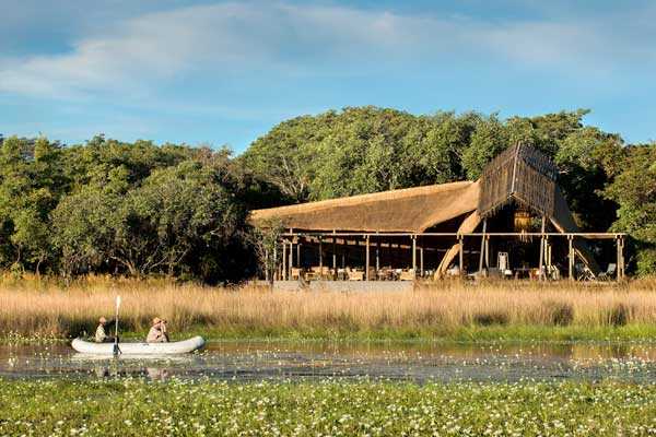 Wonderfully remote King Lewanika Lodge, Liuwa Plain