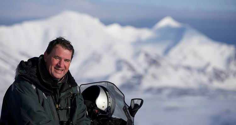 Alastair Fothergill Our Planet on location in Antarctica credit Silverback/Netflix