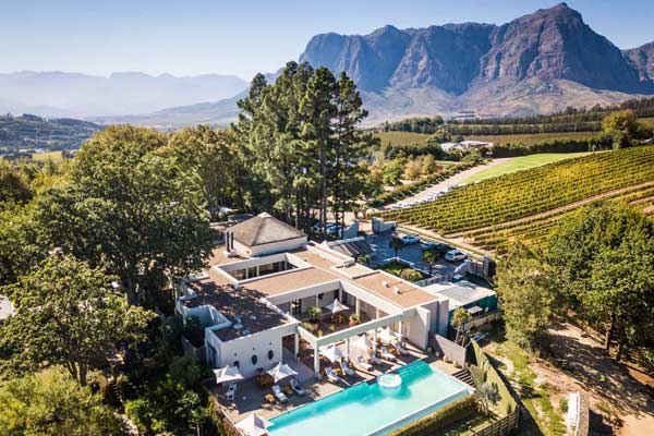 Delaire Graff in the stunning Cape Winelands, c Scott Ramsay