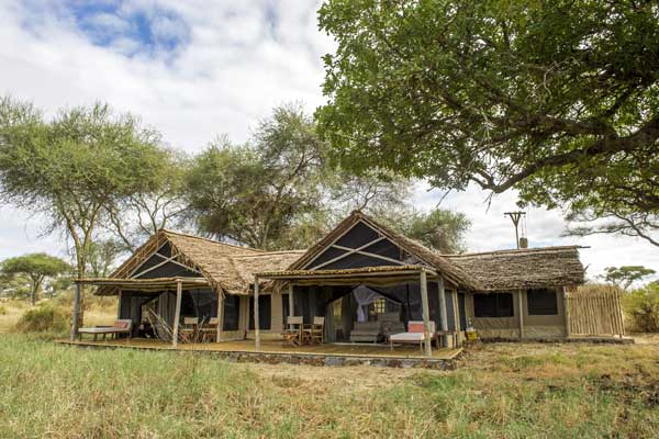 Kuro Tarangire - Six stylish tents just a stone's throw from the Tarangire River where hippo and elephant abound. An area of wild and natural beauty - you don't have to go far to encounter the creatures that call this place home.